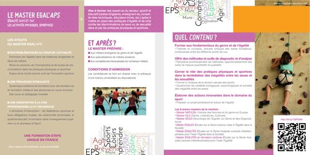 Plaquette Egal'APS