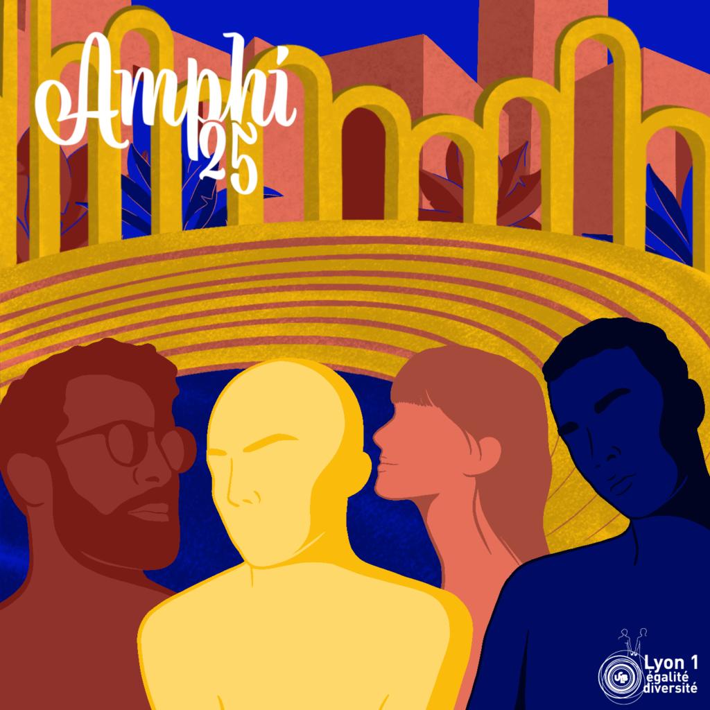 """Amphi 25 : Handicaps (in)visibles : être ou ne pas être """"différent-es"""", une question de situation"""